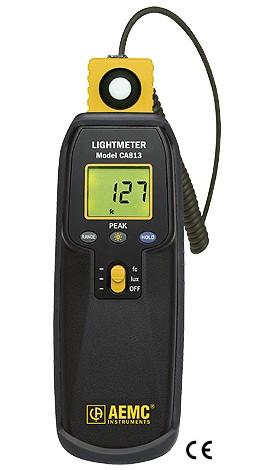 AEMC 2121.21 Ca813 Lightmeter 20-20000 Lux