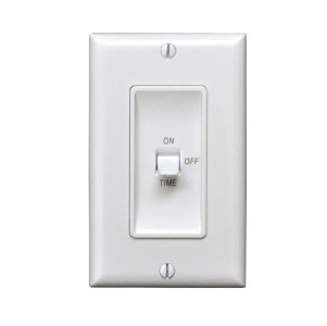 Marktime 42507 Electronic Fan/Light Time Switches (White)