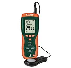 Extech HD450-NIST Datalogging Heavy Duty Light Meter with NIST Traceable Certificate