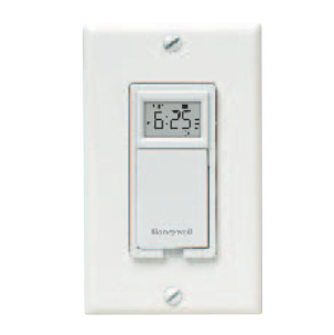 Honeywell PLS730B1003 EconoSwitch Programmable Wall Timer Switch120V 1-Pole 3-Wire