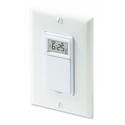 Honeywell TI035 Programmable Wall Switch 120V 3-Pole 3-Wire Solar Timetable