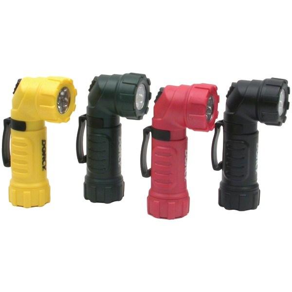 DORCY 41-4235 28-Lumen 9-LED Flashlight with Angle Head