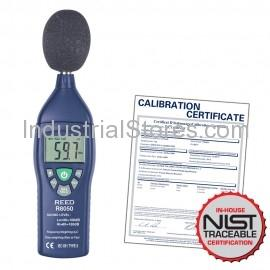Reed R8050-NIST Sound Level Meter with NIST Traceable Certification