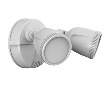 First Alert 1G1200D-PW LED Dusk to Dawn Security Light (White)