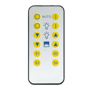 Siemens Building Technology 5WG12557AB11 IR Remote Control On/Off/Dim/Scene