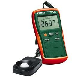 Extech EA31 EasyView Light Meter with NIST Traceable Calibration, 20,000Fc/20,000Lux