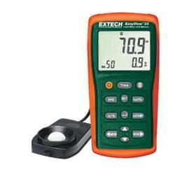 Extech EA33-NIST EasyView Light Meter with Memory with NIST Traceable Calibration