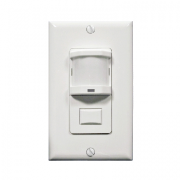 Marktime 42ES624-W 42E Series PIR and Dual Technology Occupancy/ Vacancy Sensor Switches [WHITE]