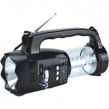 Supersonic SC-1093 20-LED 3-Way Emergency Radio/Flashlight/Lantern