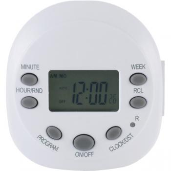 Ge 15154 7-Day Random On/Off 1-Outlet Plug-In Digital Timer