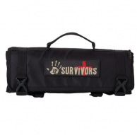 12 Survivors TS42002B Mini First Aid Rollup Kit