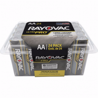 Rayovac AL-AA-24F Alkaline Battery (pack of 24)