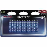 Sony AM4-B24D Stamina Plus AAA Alkaline Battery (24/pack)