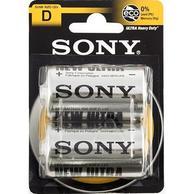 Sony SUM1-NUB2A Ultra Heavy Duty D Battery (2/pack)