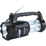 Supersonic SC-1093 20-LED 3-Way Emergency Radio/Flashlight/Lantern